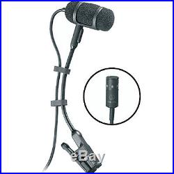 Audio-Technica PRO35CW Cardioid Condenser Clip-on Instrument Mic NEW FREE 2DAY