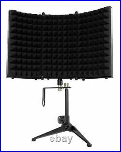 Audio Technica PRO37 Diaphragm Condenser Microphone PRO 37+Mic Stand+Iso Shield