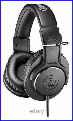 Audio Technica Podcast Podcasting Kit withMic+Headphones+Boom+Pop Filter+Monitors