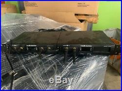Audio-Technica Pro ATW-RC13 Dual Wireless Mic Receiver ATW-RU13 No Power Adapter