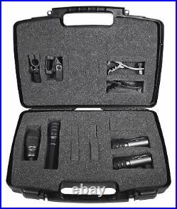 Audio Technica Pro Drum Microphone Kit with (4) Mics For Church Band Sound System