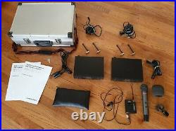 Audio-Technica Pro Wireless Microphone System with Handheld Wireless Mic AND Lav