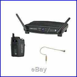 Audio-Technica System 10 Body-Pack & Beige PRO 92cW-TH Headworn Mic
