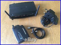 Audio Technica System 10 Wireless Radio Lapel Microphone Mic Digital Set 1/2