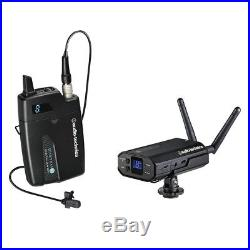 Audio-Technica Wireless System 10 Lavalier Mic ATW-1701/L + AT8691 Camera Shoe