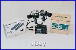 Audio kit Tascam DR60D MKII MK2 + Rode M5 M-5 Paired Cardioid Mic Microphones