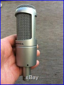 Audio-technica AT3060 Cardioid Phantom Powered Tube mic boxed hardly used