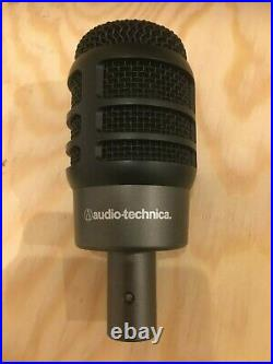 Audio-technica ATM250 Microphone Dynamic Mic Opened Unused