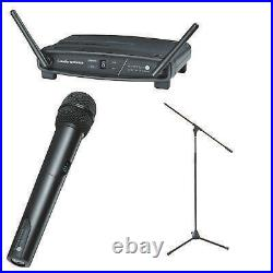 Audio technica ATW-1102 System 10 Wireless with Free mic Stand