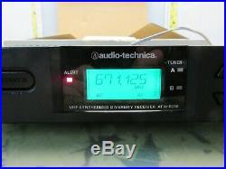 Audio technica atw-3110aD wireless lapel mic system atw-r310 t310 4H-21.5