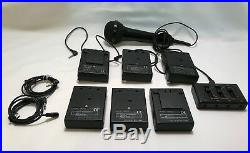 Azden Wireless 3 Transmitters, 3 Receivers WR-PRO/WM-PRO Audio Mixer CAM-3 + Mic