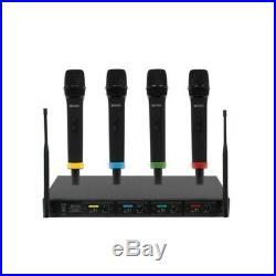 B-Stock W Audio RM Quartet Handheld Radio Microphone System inc Warranty