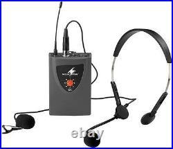 BELTPACK WITH MICS FOR TXA-110 Audio Visual Microphones, BELTPACK WITH MICS
