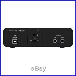 Behringer Podcast Studio Audiophile Combo B-1 B1 Mic UMC22 Audio Interface + XLR