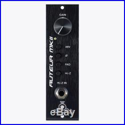Black Lion Audio Auteur MKII 500-Series Mic Pre MK2 Microphone Preamplifer