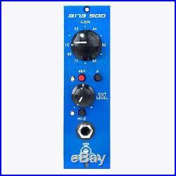 Black Lion Audio B173 500-Series Mic Pre B-173 Microphone Preamplifer Preamp