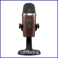 Blue Microphones YETINANO-RO USB Mic (Red Onyx) with Boom Arm Bundle