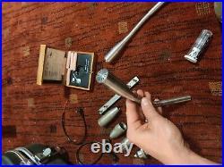 Bruel & Kjaer 2204 sound meter with 1613 bandpass filter, 4145 mic + many extras
