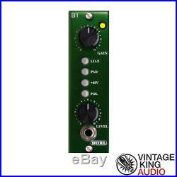 Burl Audio B1 Mic Pre Class A discrete 500 Series Microphone Preamp/DI