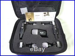 CAD Audio Stage7 Premium 7-Piece Drum Instrument Mic Microphone Pack +Vinyl Case