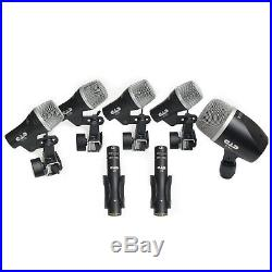 CAD Audio Stage7 Premium 7-Piece Drum Instrument Mic Pack With Vinyl Carrying &