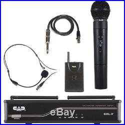 Cad Audio Gxlvhbh Dual Vhf Microphone Package Hand And Lav Mics