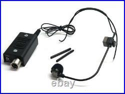 Crown CM-311 headworn microphone differoid condenser mic stage live sound XLR