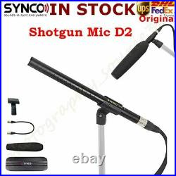 DHL Synco Audio Mic-D2 Hyper-Cardioid Condenser Shotgun Microphone for Interview