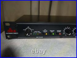 Dbx 286A Rack Mount Pro Audio Microphone Mic Preamp Processor Used From Japan