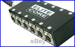 ELITE CORE 12 CHANNEL x 30' LIVE AUDIO STAGE DRUM SUB SNAKE XLR MIXER MIC CABLE