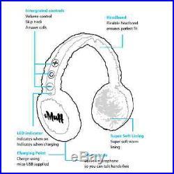 Ear muffs eMuff High Def Audio Wireless Bluetooth Earmuff Headphones BLK