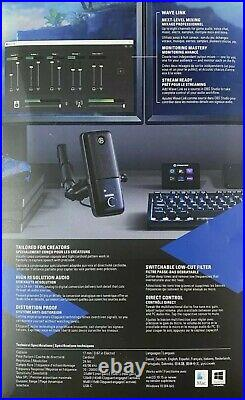 Elgato Wave 3 USB Condenser Microphone Mic Great Sound Brand New Ships Today