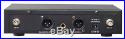 GTD Audio 2Ch UHF Handheld Wireless Microphone Mic System NEW 35H