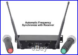 GTD Audio 32 Selectable Channels Wireless Handheld Microphone Mic system LX-22
