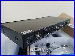 GTD Audio G-787HL Quad PLL Wireless Mic Unit 600MHz -used, excellent condition