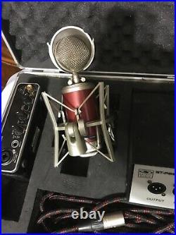 Galaxy Audio ST-834TL Tube Condenser Mic Spherical Design & Pop Fillter Case