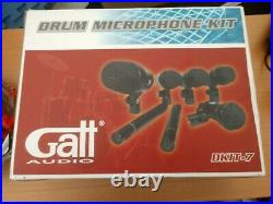 Galt Audio Dkit 7 Drum Kit Mic setup Brand New Sealed