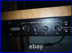 Groove Tube Microphone Switcher Comparator 2006 GT, RARE! Mic Sound Enclosure