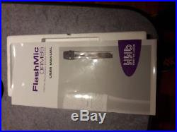 HHB Flashmic DRM 85 Sennheiser Cardioid Mic-Audio Voice Portable Memory Recorder