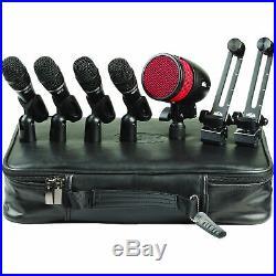 Heil Sound HDK-5 5-Piece Drum Microphone Kit HDK5 Drum Mics PR48 Handi-Mic Pro
