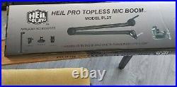 Heil Sound Heil Pro Topless MIC Boom Model Pl2t Brand New Boxed
