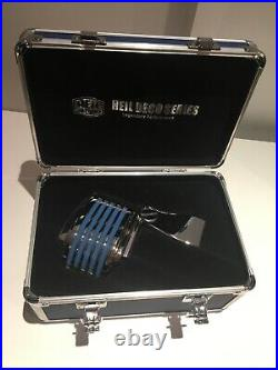 Heil Sound'The Fin' Dynamic Mic/Microphone SILVER with Blue LED. Free shipping