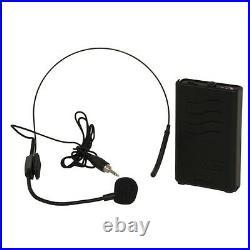 Ibiza Sound Portable Battery Powered Bluetooth PA System 700W Wireless Radio Mic