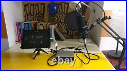 Ipad Recording Setup Audio Technica AT2020, Steinberg UR12, Mic Stand & Leads