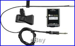 K&K Sound Silver Bullet Mic Clip-on Condenser Microphone Pickup withPreamp, XLR