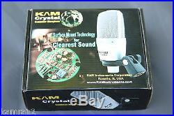 KAM Crystal Large Diaphragm Condenser Mic, Similar sound to TLM103