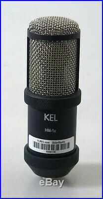 Kel Audio Hm-1x Cardioid Condenser Mic with Shockmount and Case