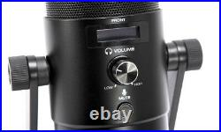 M-Audio Uber Mic Microphone USB Condenser With Outlet Headphones And Mount