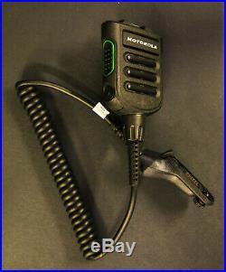 Motorola NMN6274A APX8000 APX7000 Remote Speaker Mic 3.5mm Audio Jack