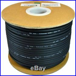 NEW AUDIO Bulk Microphone Cable 300 Black Mic 300ft Signal mike cable